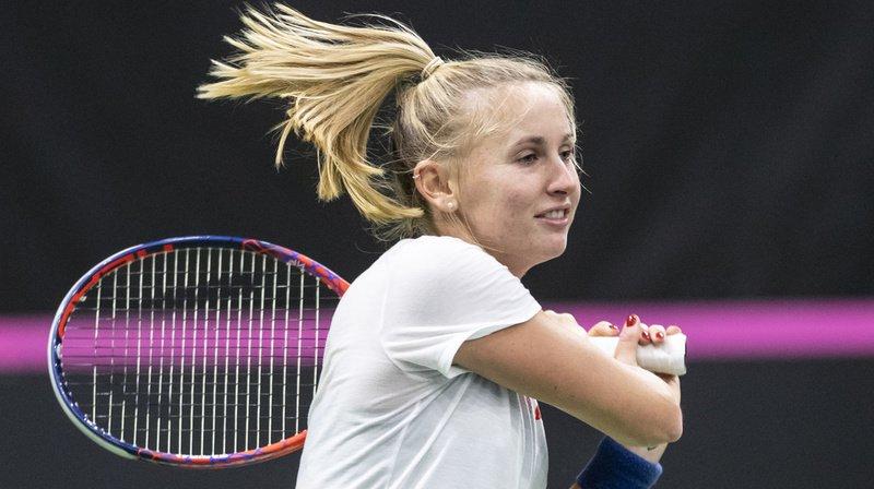 Tennis: la Biennoise Jil Teichmann se hisse en demi-finale au tournoi WTA de Prague