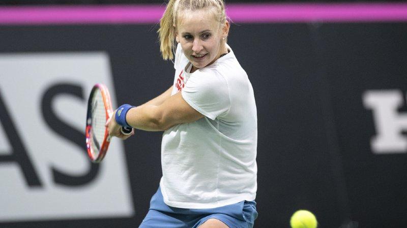 Tennis: la jeune Biennoise Jil Teichmann remporte son premier titre WTA à Prague