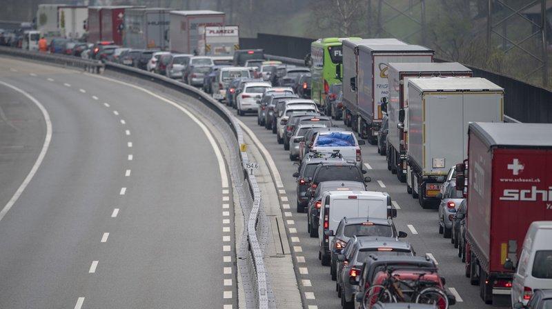 Trafic pascal: fin des bouchons dans les deux sens au tunnel du Gothard