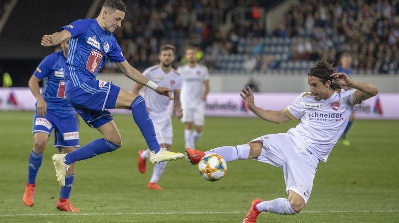 Football: Thoune bat Lucerne et accède à la finale de la Coupe de Suisse