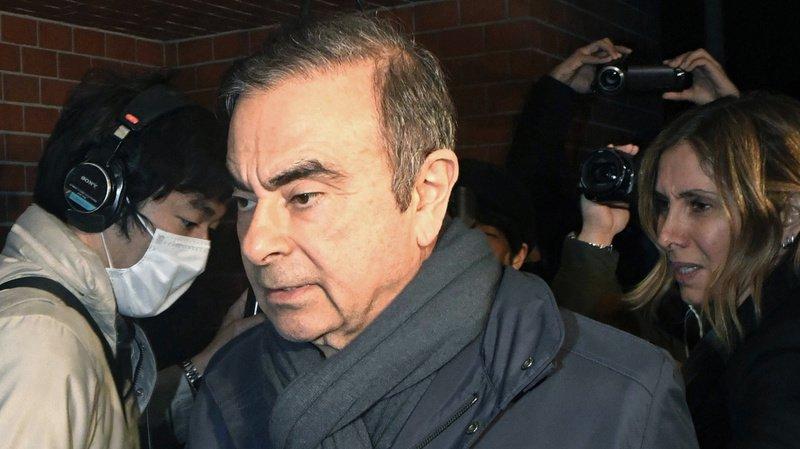 Automobile: le tribunal de Tokyo approuve la libération sous caution de Ghosn
