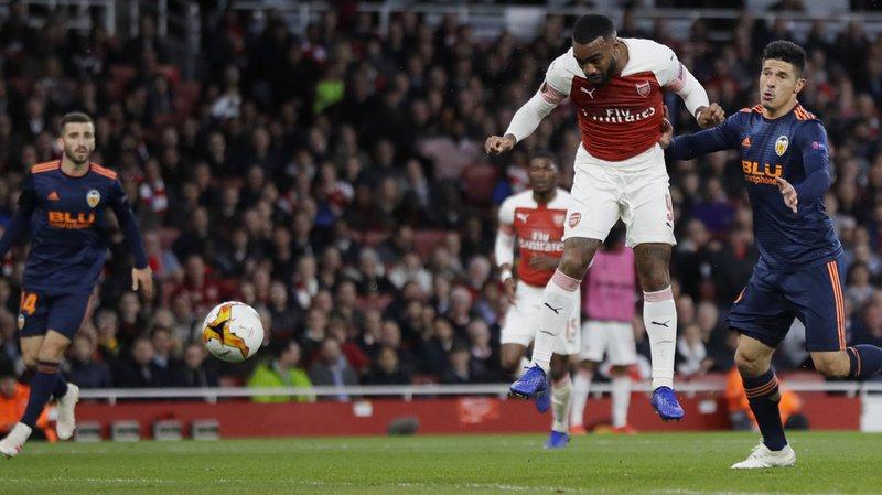 Football - Europa League: Arsenal bat Valence 3 à 1 lors des demi-finales aller, Francfort arrache le nul face à Chelsea
