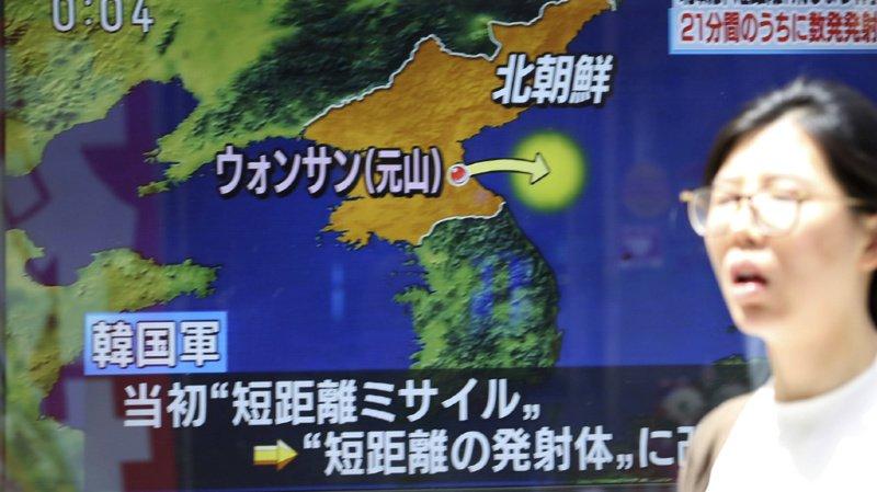 La Corée du Nord tire des missiles à courte portée en mer du Japon