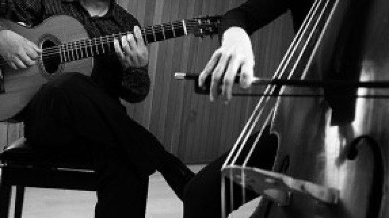 DUO CONCORDIS - guitare & contrebasse @ Lac Souterrain