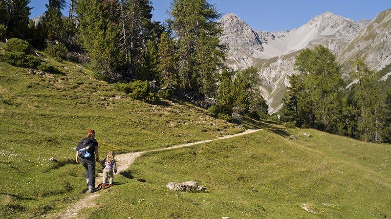 La randonnée pour combattre le stress: campagne d'été de Suisse Tourisme