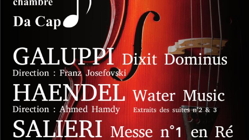 Concert de l'orchestre Da Capo Nyon et Echo d'Onex