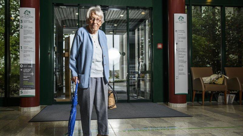 Arrivée à la Lignière il y a 80 ans, elle n'est jamais repartie