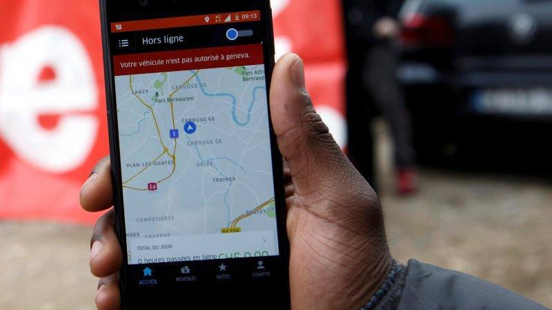 Vaud: la justice donne raison à un ex-chauffeur d'Uber