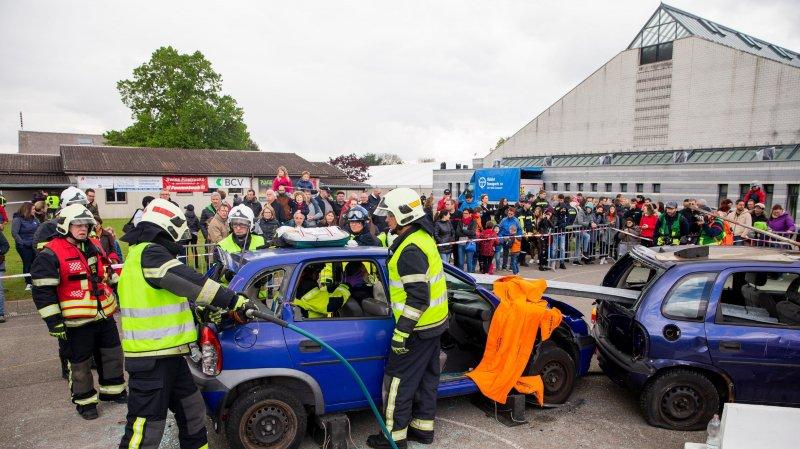 Un demi-millier de pompiers à l'épreuve et aussi en fête à Chéserex