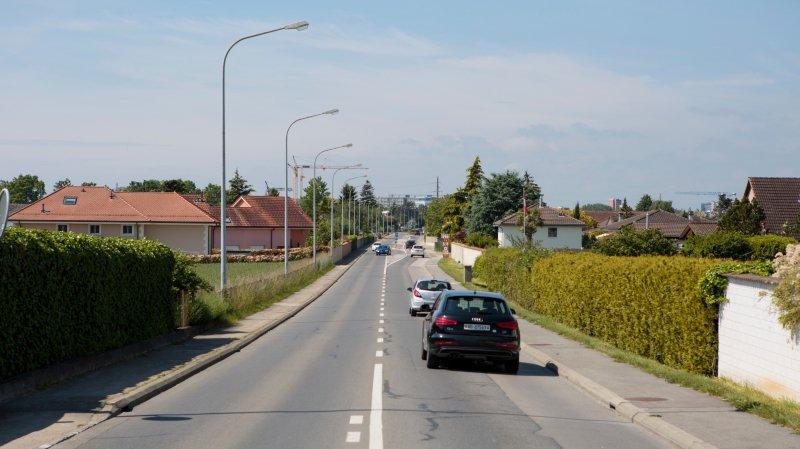 Les travaux d'assainissements de la route de l'Étraz modifieront le tracé de la ligne 805, qui passera pas le chemin de la Chenalette et des Jaquines.