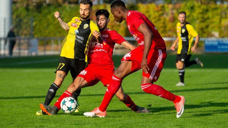 """Stade Lausanne a barré la route au Stade Nyonnais, cette saison, mais jouera le prochain exercice sur la pelouse des """"jaune et noir""""."""