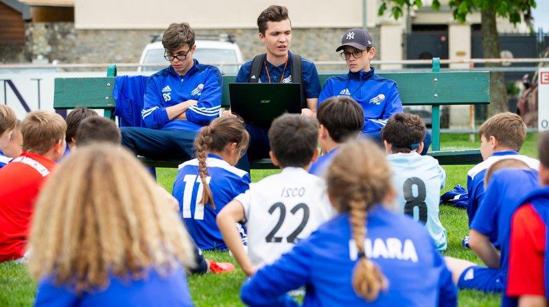Succès grandissant pour le camp de foot créé par ce jeune Rollois