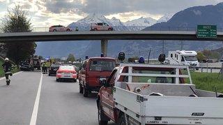 Valais: un mort et un blessé grave dans un accident de la route à Sion