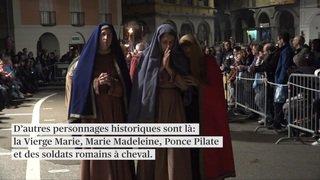 Tradition vivante: les processions de la semaine sainte à Mendrisio