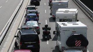 Trafic pascal: la circulation est toujours difficile au Gothard