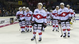 Hockey: encore du boulot pour l'équipe de Suisse, qui s'incline 5-2 face à la Russie