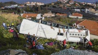 Madère: au moins 29 morts dans un accident de bus touristique