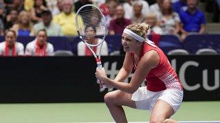 Tennis – Fed Cup: les Etats-Unis égalisent contre la Suisse après la défaite de Timea Bacsinszky