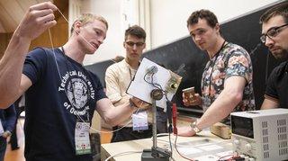 Tournoi international des physiciens à l'EPFL: les Suisses 5e, finale vendredi