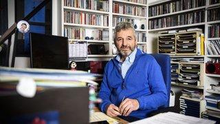 """L'""""apprenti"""" Daniel Rossellat nommé docteur honoris causa par l'UNIL"""