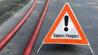 Incendie à Aigle: nonante habitants évacués