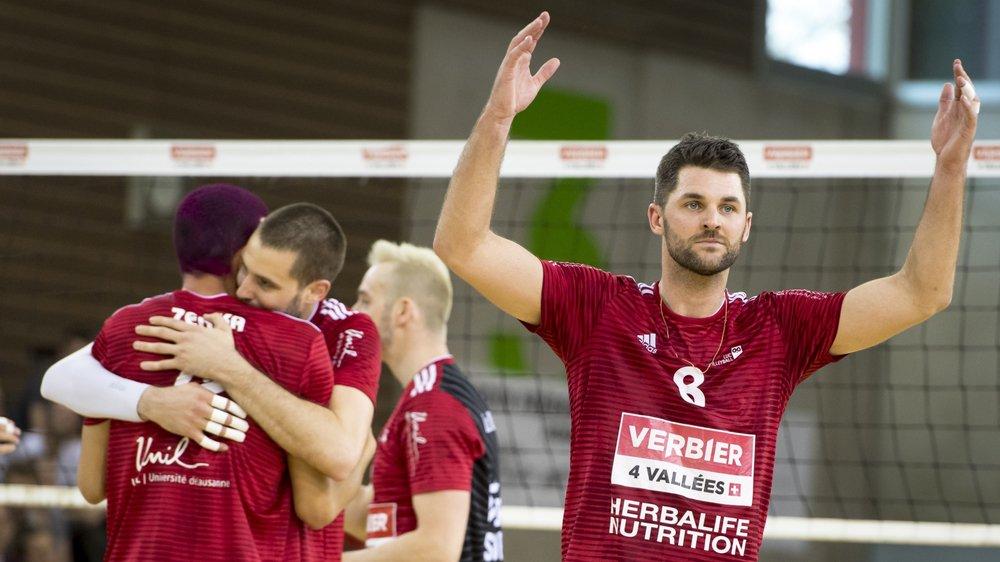 Sébastien Chevallier (31 ans) quitte l'élite du volley-ball après avoir remporté le championnat suisse de LNA avec le LUC.