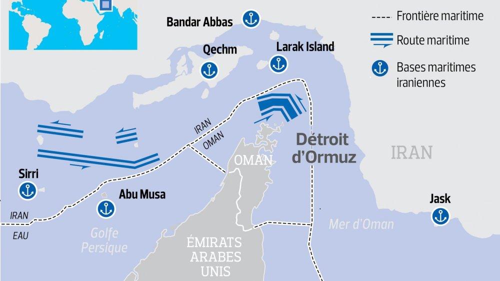 Le Golfe sous tension  après le sabotage de tankers
