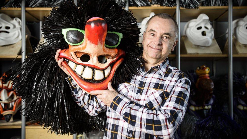 Daniel Margot, créateur de masques, a inspiré huitartistesdes Ateliers de La Côtequi présenteront leurs travaux sur le thème du masque du carnaval de Bâle.