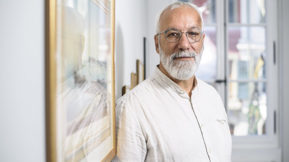 Salvatore Gervasi, 59 ans, est conservateur à l'Expo Fondation Bolle depuis la création du lieu en 2008.