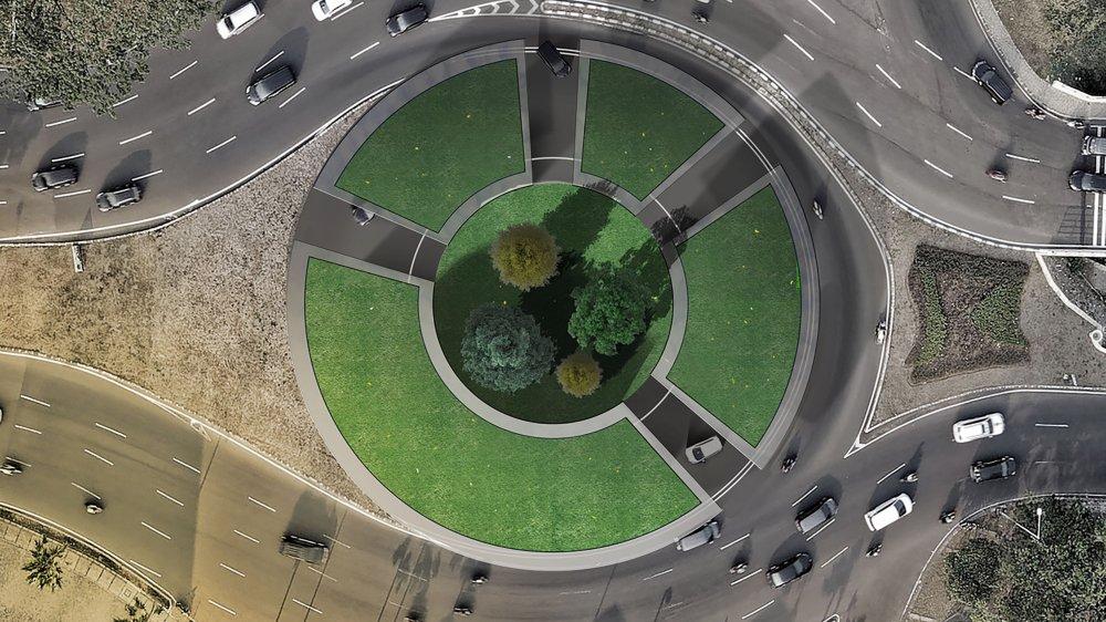 PROJET PRIMÉ Parmi les nombreux projets présentés, celui-ci a été exposé au dernier Salon de l'automobile de Genève. Il accorde une large place aux espaces verts.