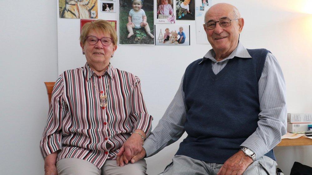 Mady et Jean Sebenello, un premier amour qui dure depuis 60 ans.