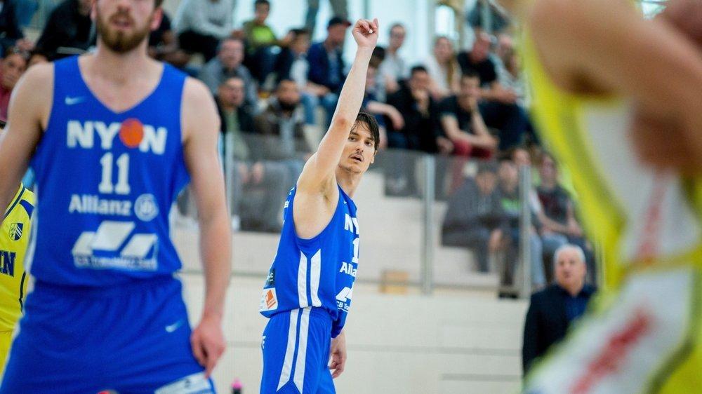 """Ancien joueur du BBC Nyon, Stefan Ivanovic se dit """"très heureux"""" de son effectif."""