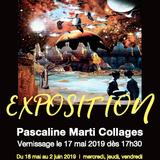 Exposition collages par Pascaline Marti