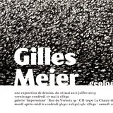 Exposition Gilles Meier dessins