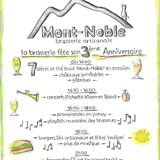 3ème anniversaire de la brasserie du Mont-Noble