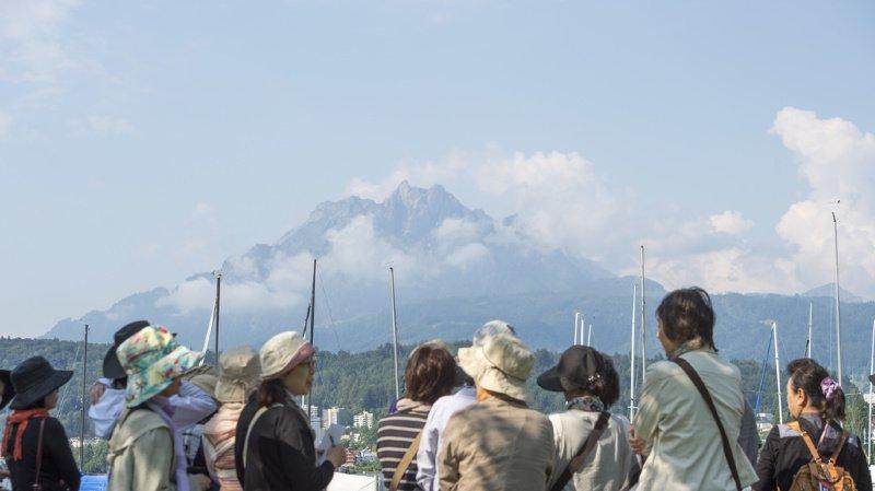 Ce lundi, un premier groupe de 4'000 Chinois va arriver à Lucerne. (illustration)