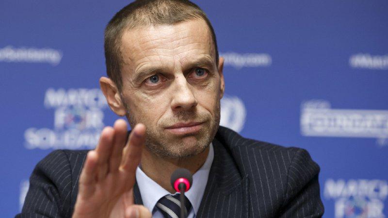 """Le président de l'UEFA, Alexsander Cerefin a présenté un projet de réformes qui ne sont que des """"idées et des opinions""""."""