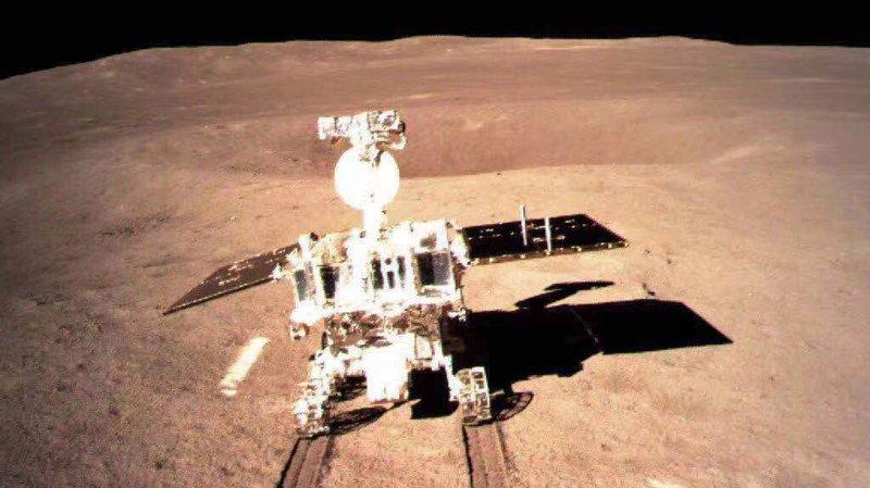 C'est dans le cratère Von Karman, le plus grand cratère d'impact connu dans le système solaire, que la découverte à eu lieu.