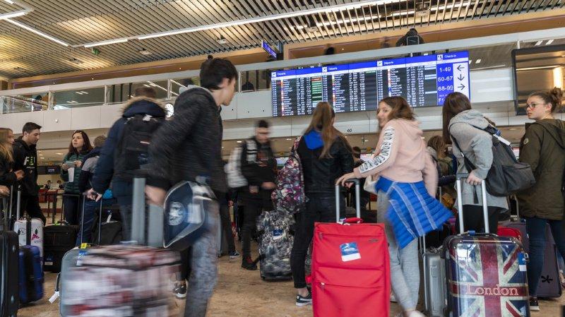 Transport aérien: l'aéroport de Genève touché par une grosse panne informatique
