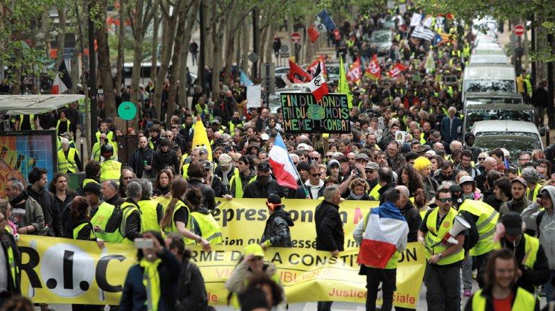 Nouvelle baisse du nombre de gilets jaunes en France.