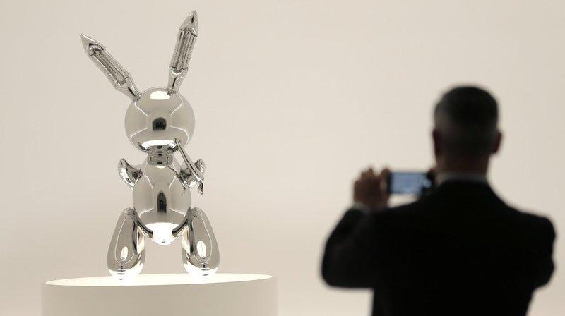 Vente aux enchères: une sculpture de Jeff Koons vendue pour 91,8 millions de francs