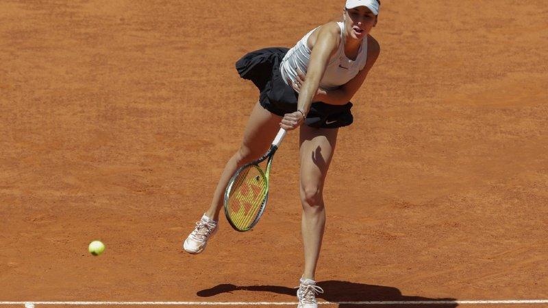 Tennis - WTA de Madrid: Belinda Bencic éliminée en demi-finale par Simona Halep