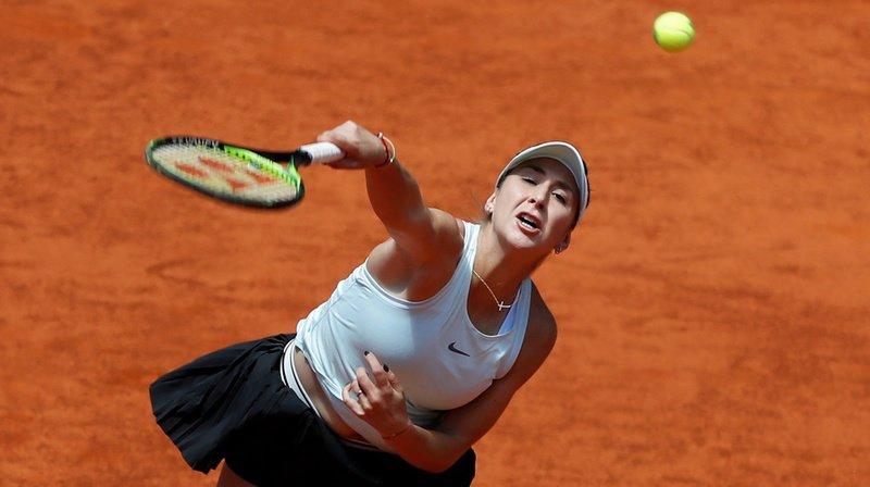 Belinda Bencic s'est inclinée en trois sets face à la Française Kristina Mladenovic.