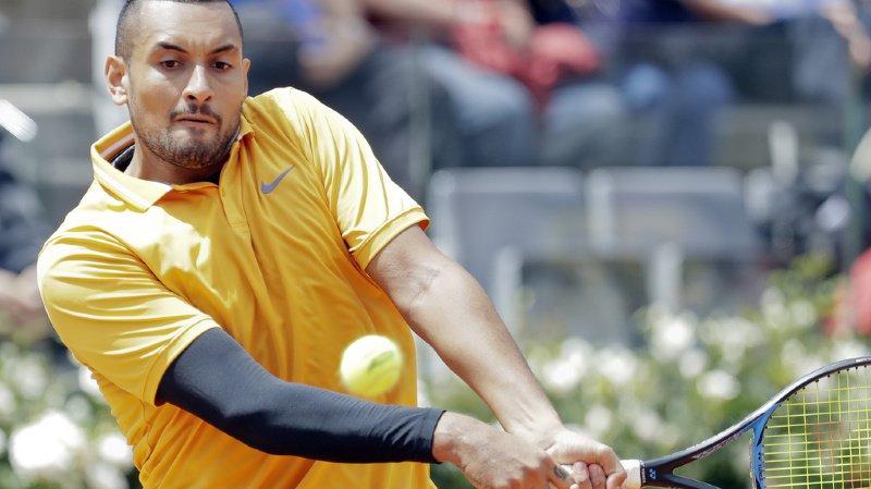 Tennis: à Rome, Nick Kyrgios pète encore une fois les plombs et se fait disqualifier
