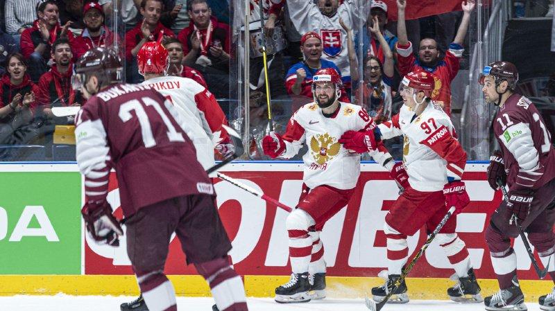 La Russie poursuit son parcours parfait avec 15 points en cinq parties.