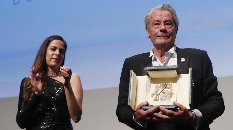 """""""Ce soir c'est un peu un hommage posthume, mais de mon vivant"""", a réagi l'acteur."""