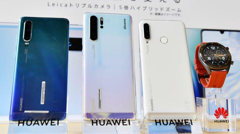 """Google a donné mardi un sursis de trois mois au Chinois Huawei, qui est inclue dans les entreprises jugées """"à risque"""" par l'administration américaine. (Illustration)"""