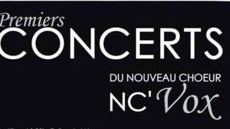 Concert chœur NC'VOX - Direction: Laurence Lattion