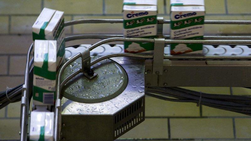Produits laitiers: Cremo devra rembourser 2,8 millions de francs de subventions perçues indûment