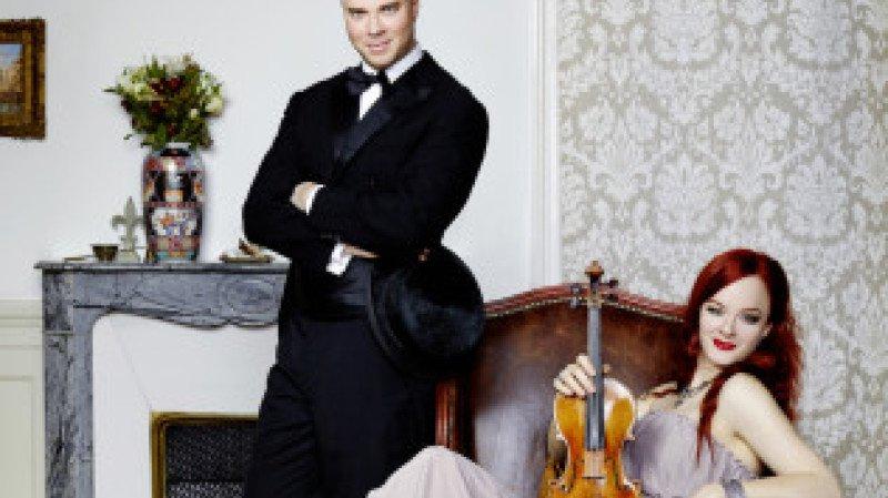 Rachel Kolly d'Alba, violon; Christian Chamorel, piano; François Grin, violoncelle